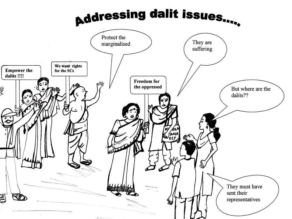Addressing dalit issues