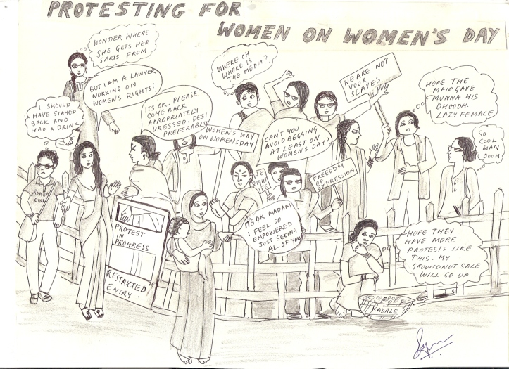 womens day protests
